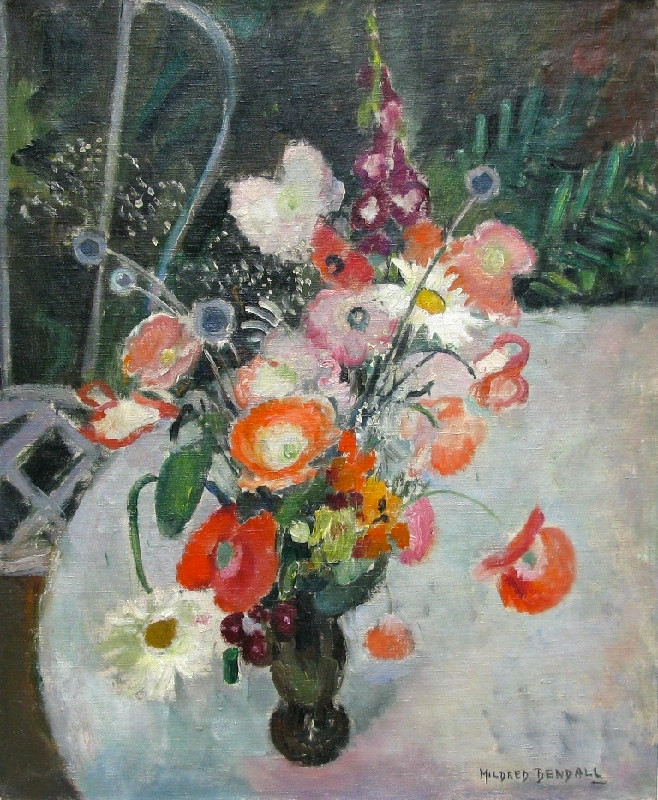 Mildred Bendall, Flowers, c. 1930