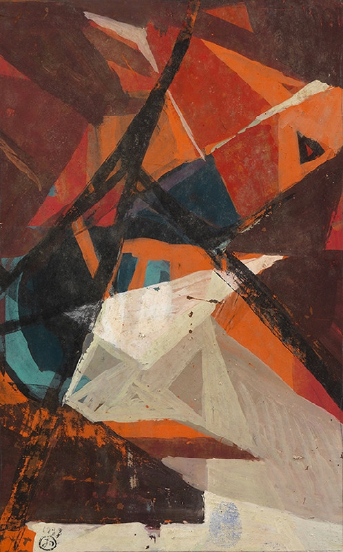 Joseph Lacasse, Composition (Dia no. 16/16), 1937