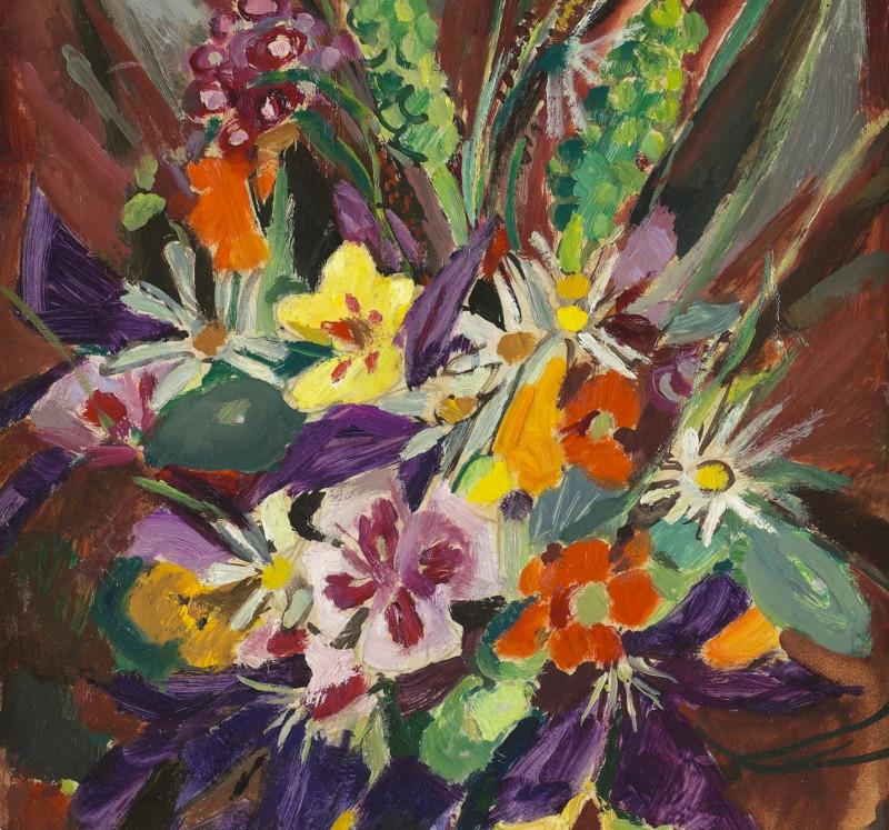 Mildred Bendall, Étude de Fleurs, c. 1930