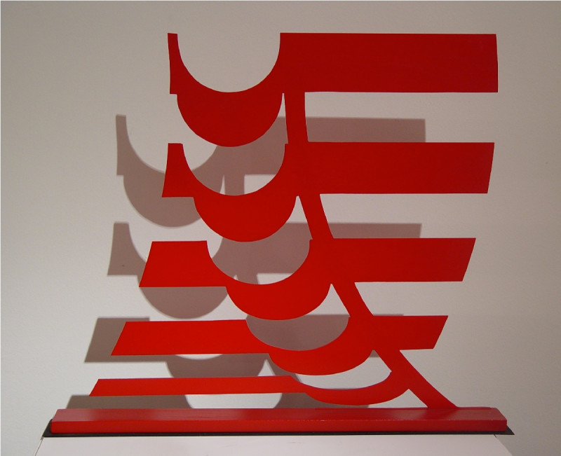 Michael Kidner, RA, Red Object, 1963