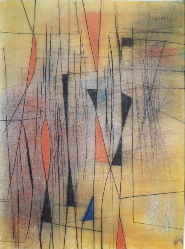 Caziel, WC522 - Composition 1965, 1965