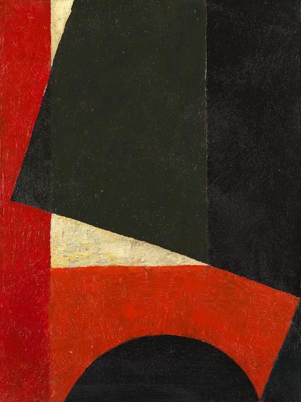 Joseph Lacasse, Composition géométrique (Dia no. 121), 1949-50