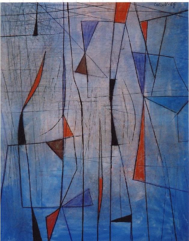 Caziel, WC530 - Composition 03.1965, 1965
