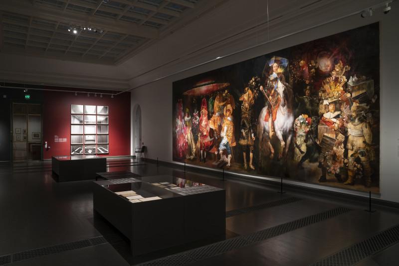 Wolfe von Lenkiewicz, The School of Night Installation | Ateneum Museum, 2020