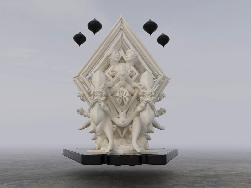 Wolfe von Lenkiewicz, Eurydice Array 1, 2021