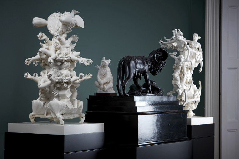 Wolfe von Lenkiewicz, Sculpture Installation, 2020