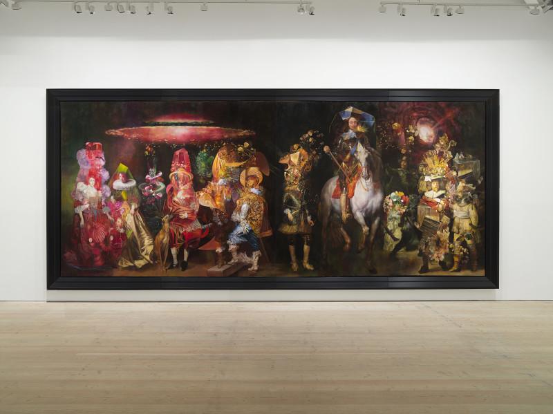 Wolfe von Lenkiewicz, The School of Night | Saatchi Gallery, 2018