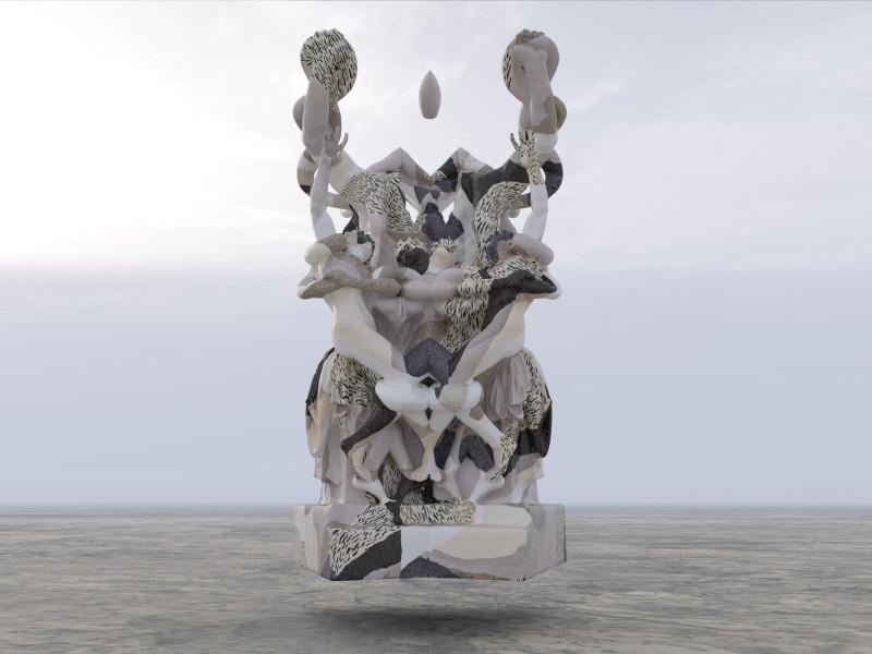 Wolfe von Lenkiewicz, Laocoon, 2021