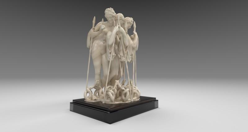 Wolfe von Lenkiewicz, Three Graces, 2020