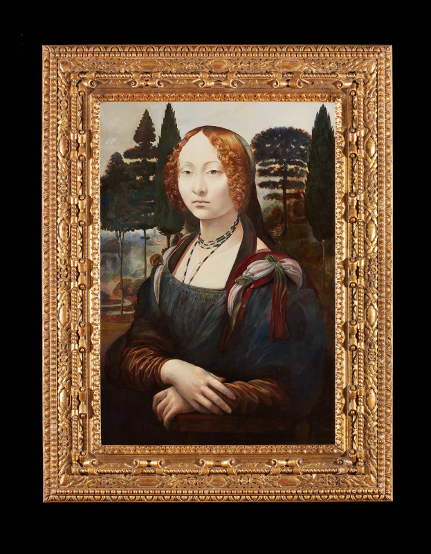 Wolfe von Lenkiewicz, Mona Lisa, 2014