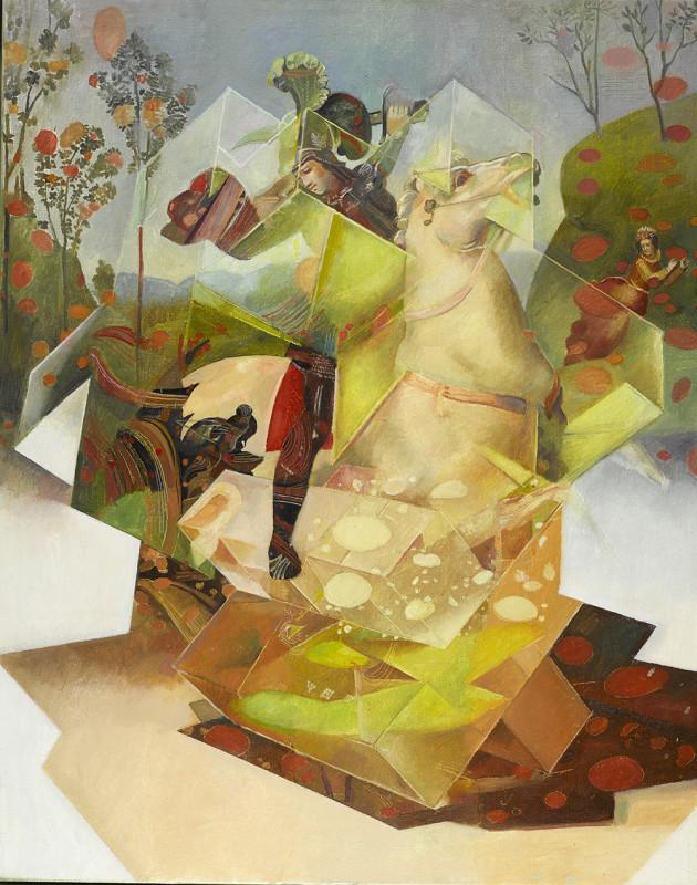 Wolfe von Lenkiewicz, St George, 2017