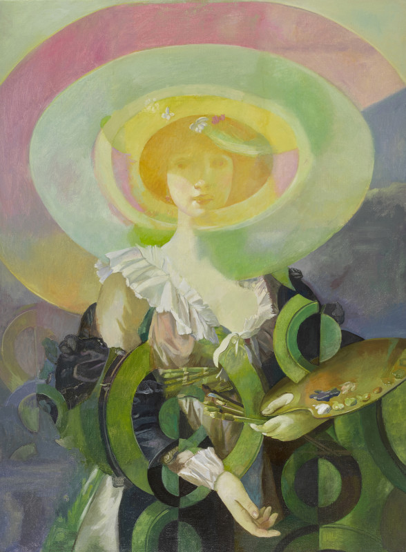 Wolfe von Lenkiewicz, The Green Lady , 2017