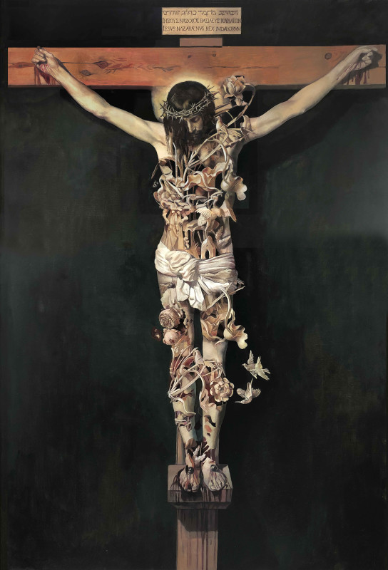 Wolfe von Lenkiewicz, Christ on the Cross, 2018