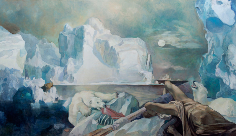 Wolfe von Lenkiewicz, Man Proposes God Disposes , 2013