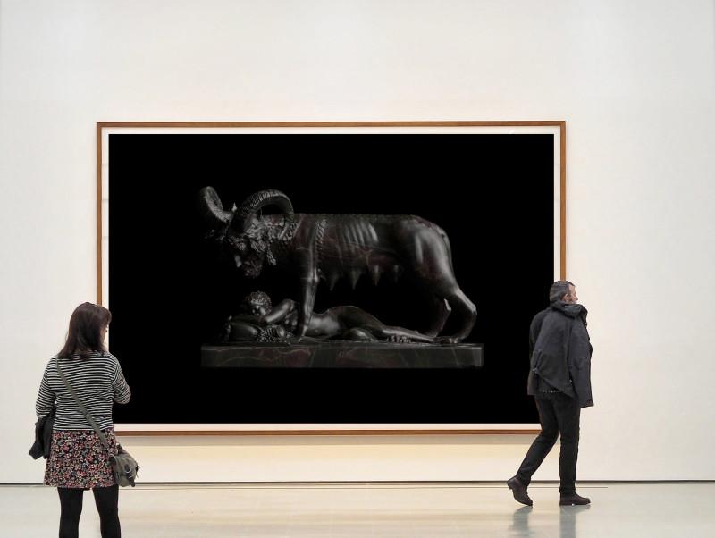 Wolfe von Lenkiewicz, Capitoline Wolf Installation, 2021