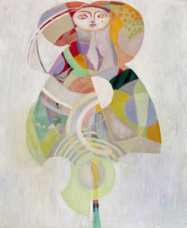 Wolfe von Lenkiewicz, The Flower Girl, 2017
