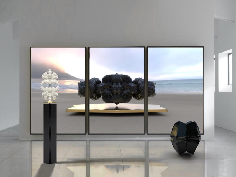 Wolfe von Lenkiewicz, Qin Shi Huang Di Installation, 2021