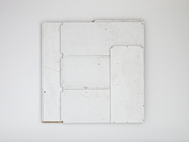 Paul Merrick, Flag (White), 2012
