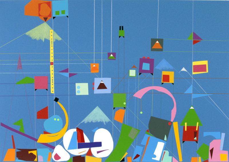 Fantastica (Blue II), 2007