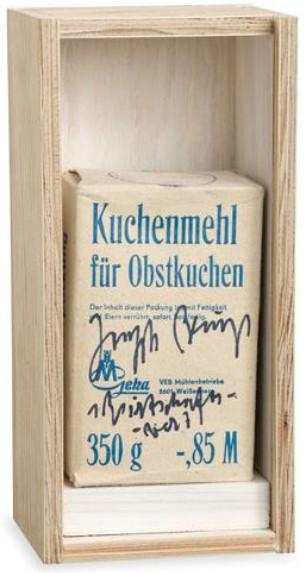 Joseph Beuys, Kuchenmehl, 1980