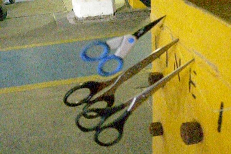 Phenomena (Detail: 3 Scissors), 2009