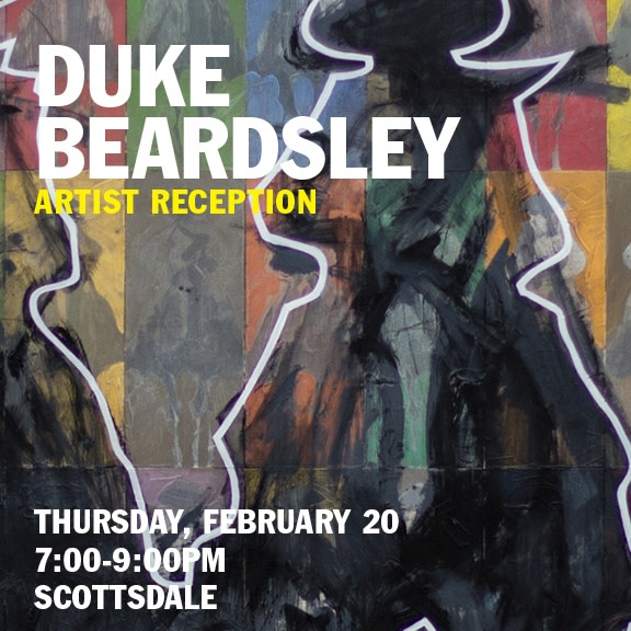 Duke Beardsley Reception , Meet the Artist