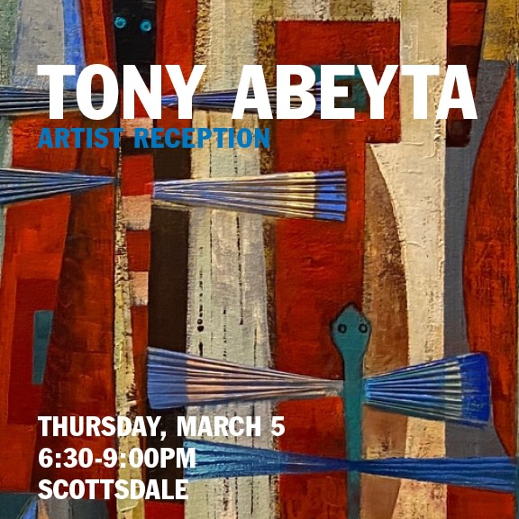Tony Abeyta Artist Reception