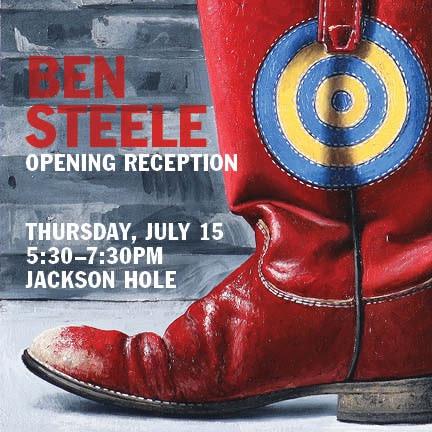 Ben Steele Artist Reception, Meet the Artist