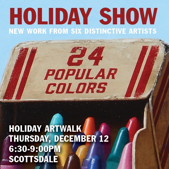Holiday Group Show, Annual Holiday ArtWalk