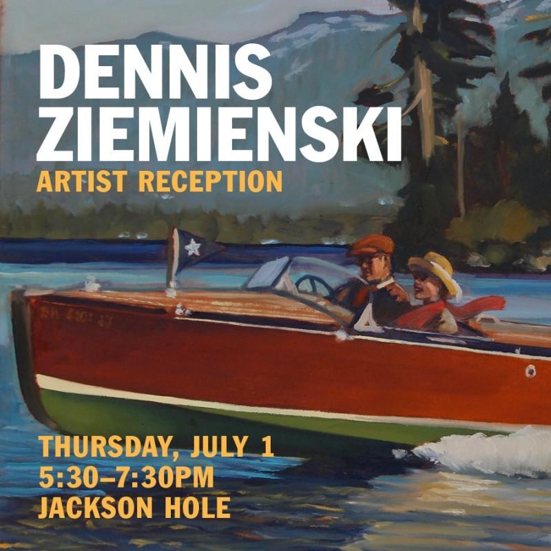 Dennis Ziemienski Artist Reception