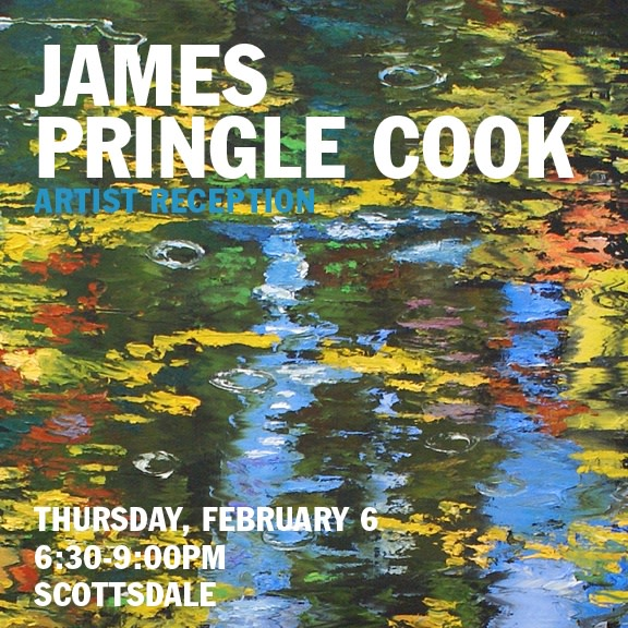 James Pringle Cook Artist Reception, Meet the Artist