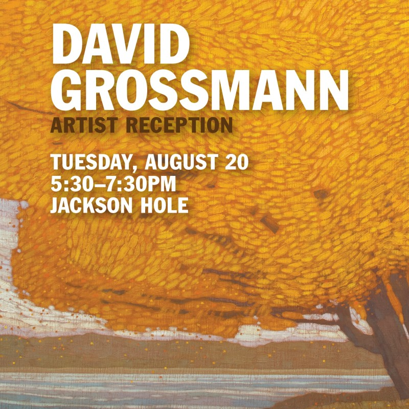 David Grossmann Artist Reception