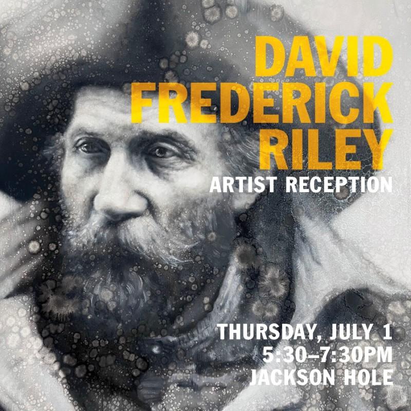 David Frederick Riley Artist Reception