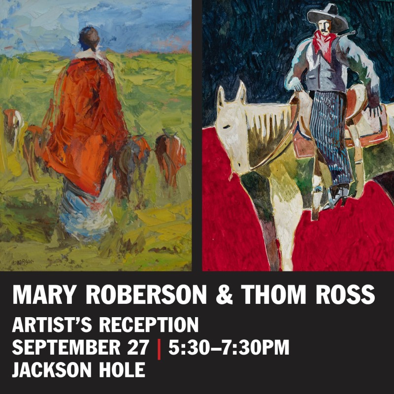 Show Reception | Roberson & Ross