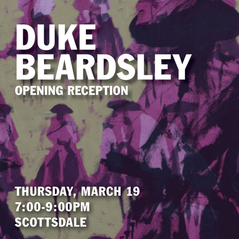 Duke Beardsley Artist Reception , 'Relentless Bravado: Inexorable Deviations from the Lost Trail to Nowhere'