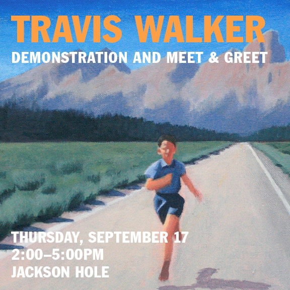 Travis Walker Artist Event, Demo and Meet & Greet