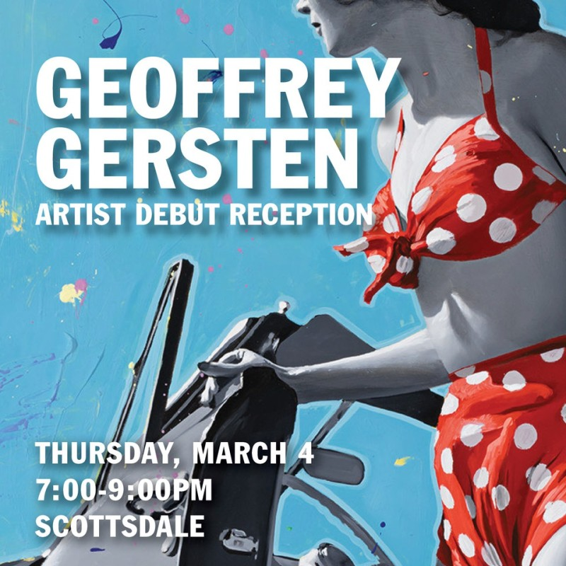 Geoffrey Gersten Artist Reception, 'Jumping Off'