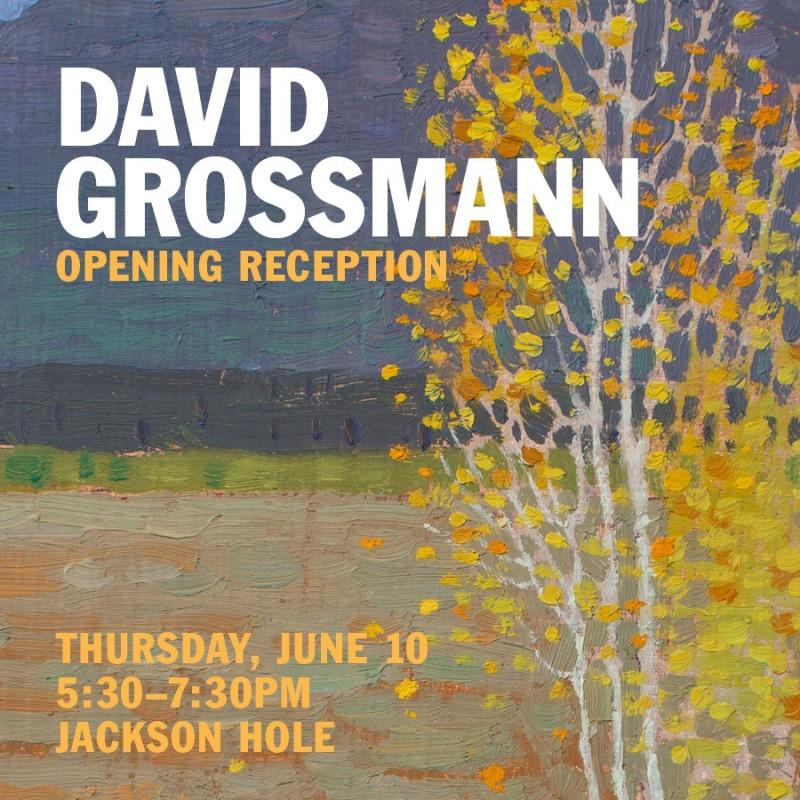 David Grossmann Artist Reception, Meet the Artist