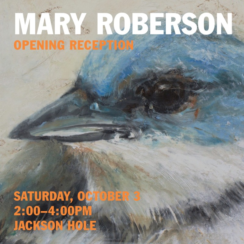 MARY ROBERSON | ART HEALS BOTH ARTIST & VIEWER, OPENING RECEPTION