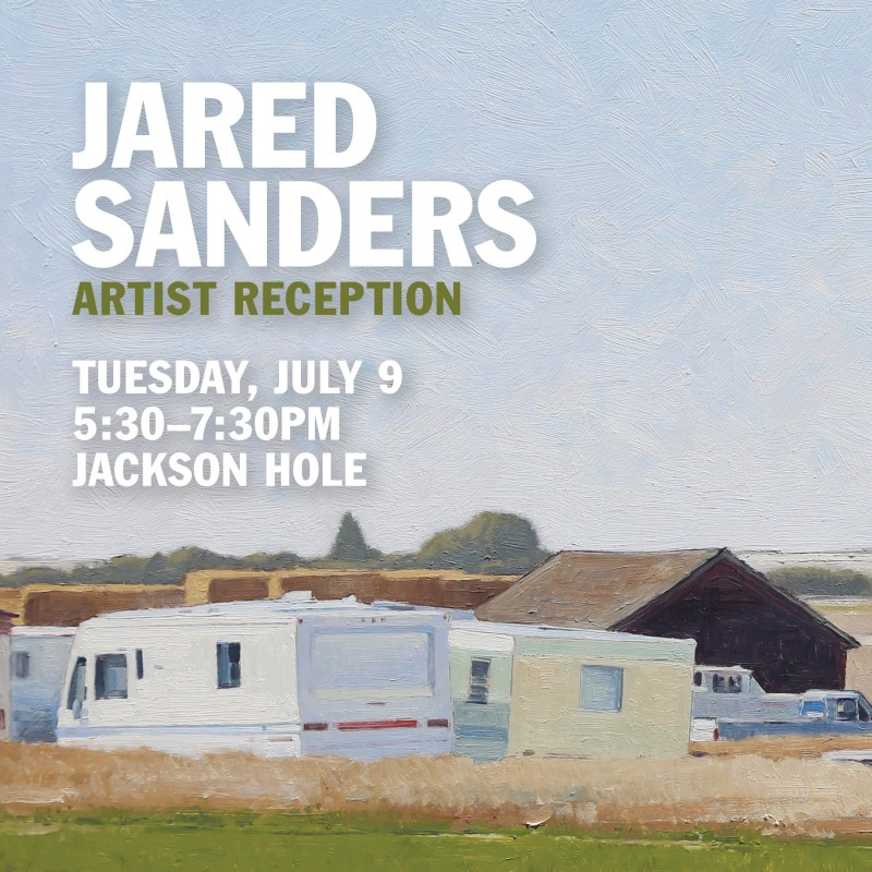 Jared Sanders Artist Reception, New Solo Exhibition