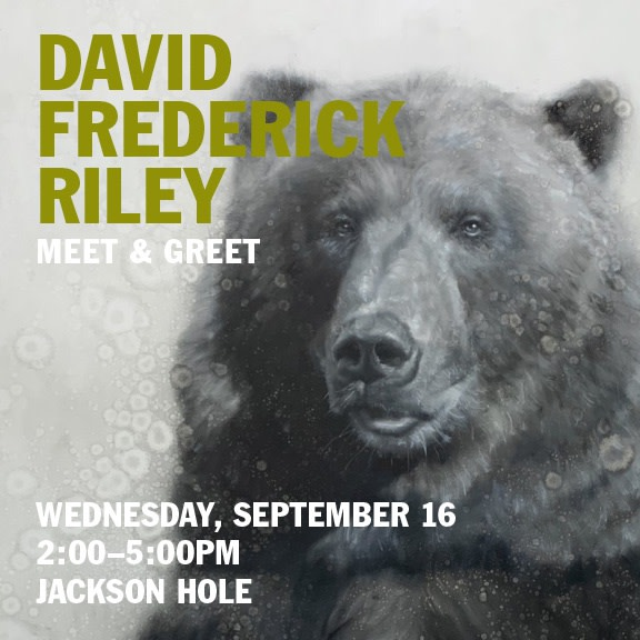 David Frederick Riley Artist Event, Meet & Greet