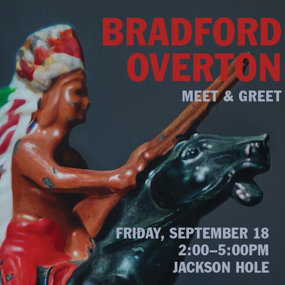 Bradford Overton Artist Event, Meet & Greet