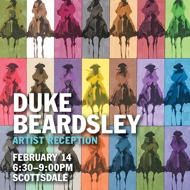 Duke Beardsley 'Pedazos Del Oeste' Reception, Meet the Artist