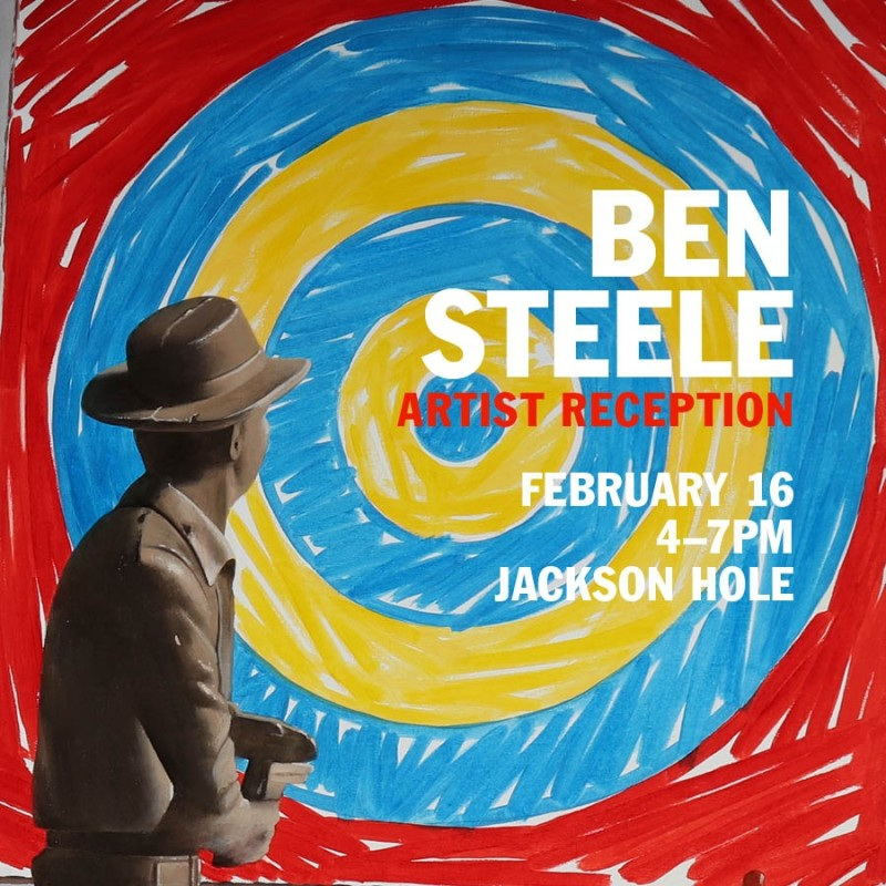 Introducing Ben Steele, Meet the Artist