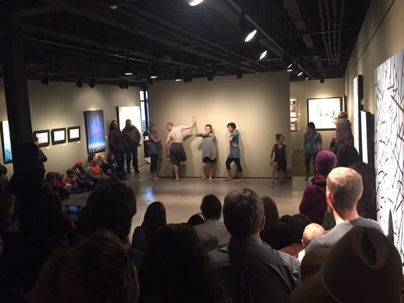 Todd Kosharek Exhibition with special performance by Contemporary Dance Wyoming