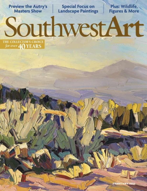 Cover and Feature Article, Courtesy of Southwest Art