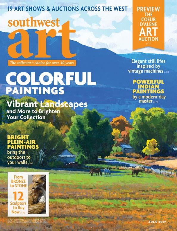 July issue, Southwest Art Magazine