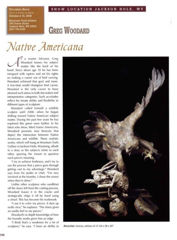 Native Americana: Greg Woodard