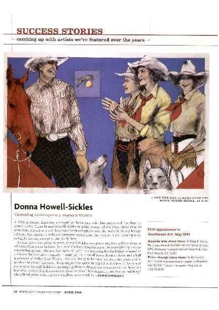 Donna Howell-Sickles Success Stories