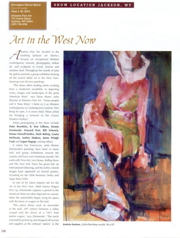 Art in the West Now